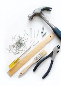 outils et matériaux de bricolages