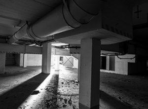 sous sol abandonné