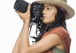 photographe prise de profil
